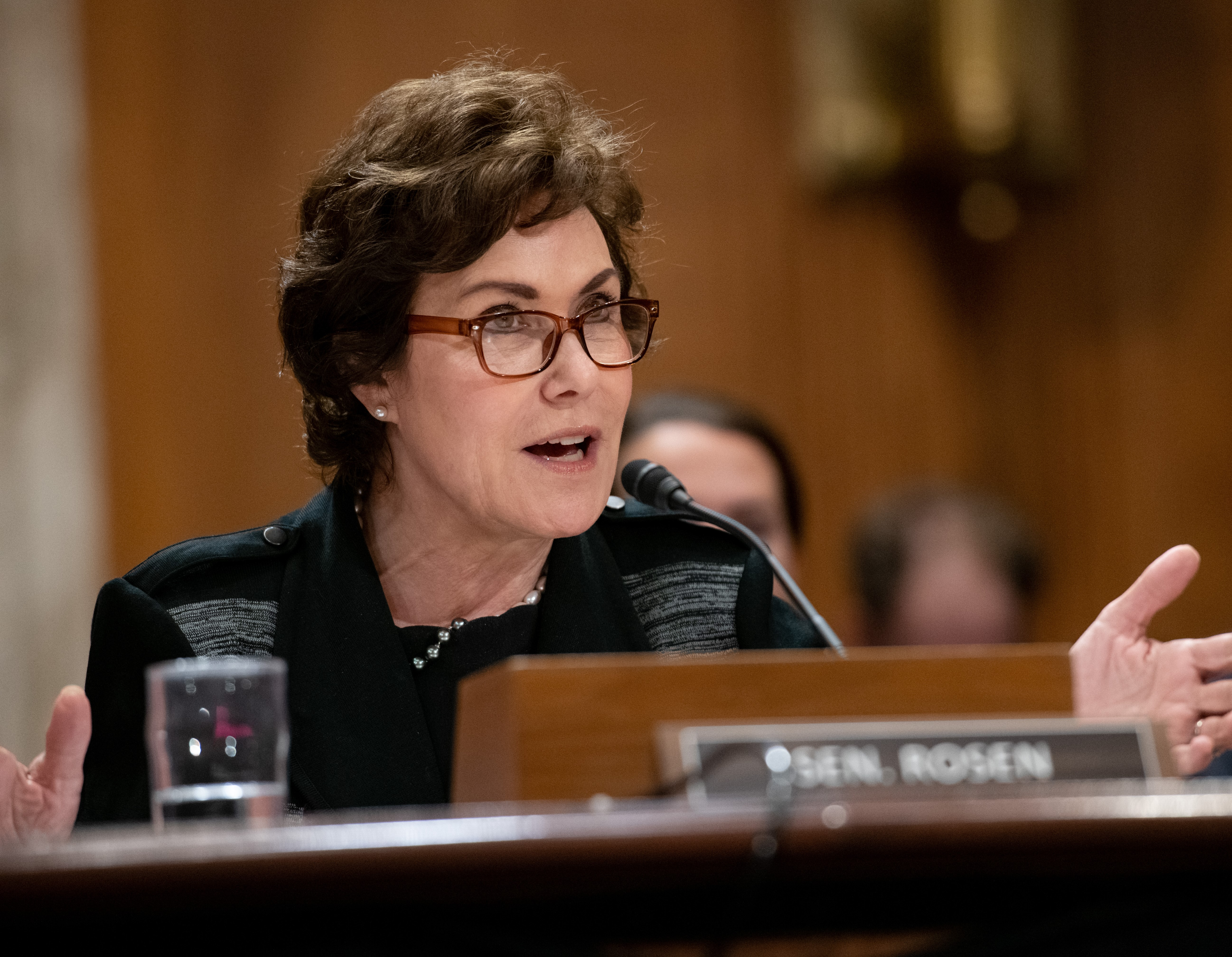 U.S. Senator Jacky Rosen (D-NV) testified before the United States Senate Committee on Environment and Public Works (EPW)