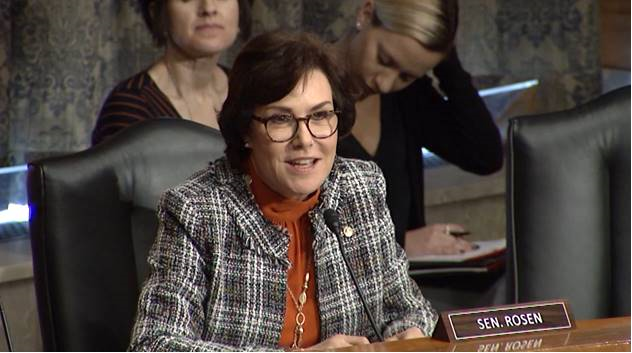 U.S. Senator Jacky Rosen (D-NV), a member of the Senate Homeland Security and Governmental Affairs Committee (HSGAC), posed several questions to FEMA Administrator nominee Peter T. Gaynor.