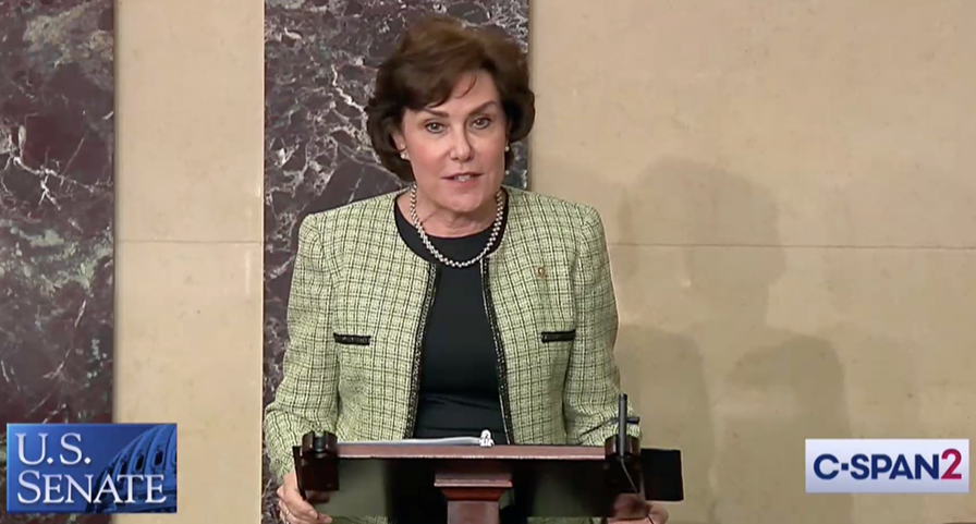 U.S. Senator Jacky Rosen (D-NV) spoke on the Senate floor about the devastating wildfires ravaging the Western United States and the need to combat the economic and environmental impacts caused by climate change.